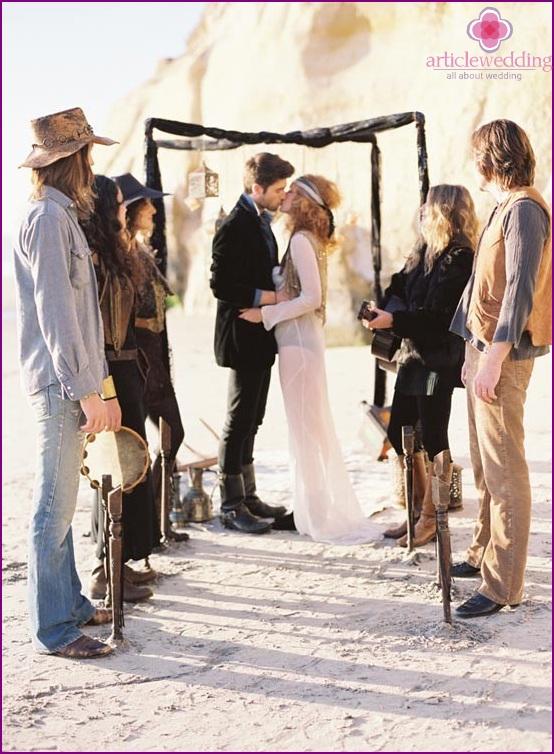 Svatba V Hippie Stylu Pozitivni A Jasne