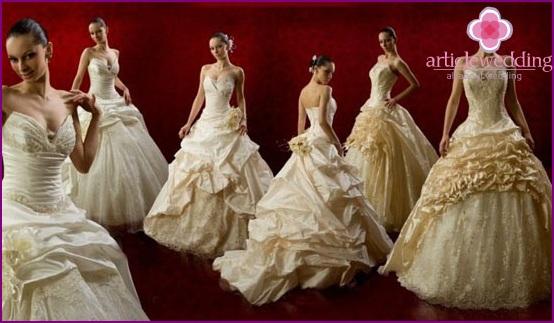Hochzeitskleid Vermietung: wichtige Nuancen