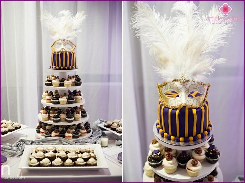 Cake style masquerade