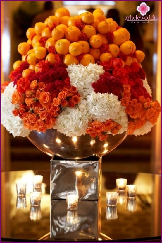 Boda de la mandarina positividad y alegr a - Mandarina decoracion ...