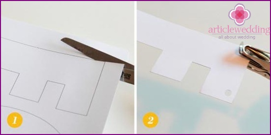 Make a blank letter paper
