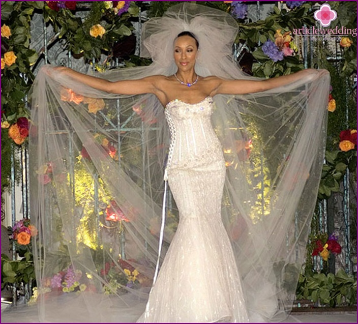 The most expensive wedding dress in the world of model 2015 with photo