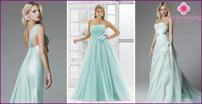 Свадебное Бирюзовое Платье Купить