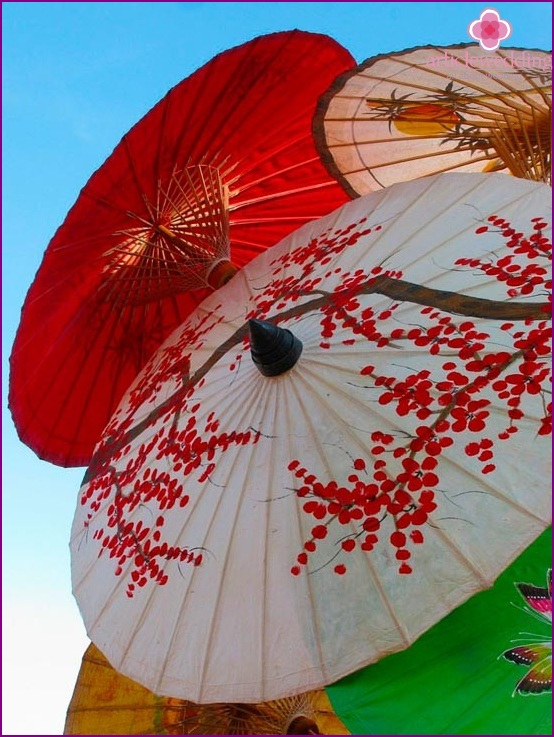 Chinese umbrella for wedding