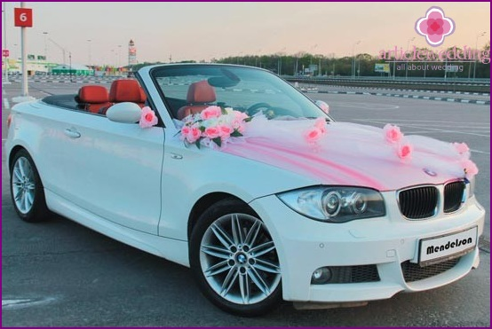 Wedding cabriolet