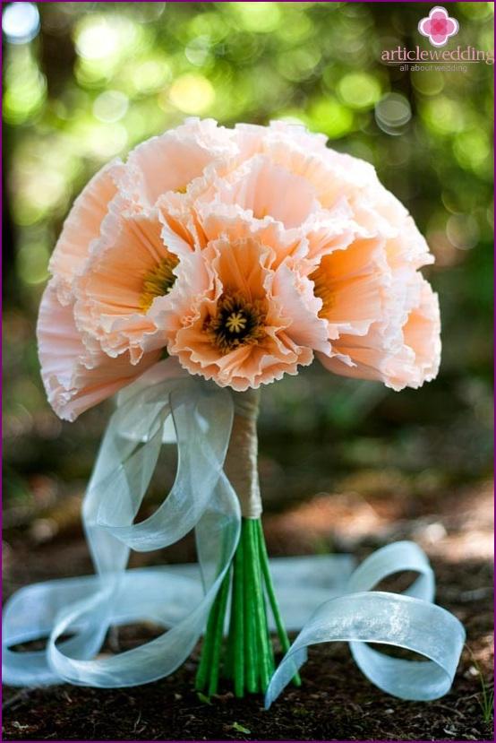 Cute paper bouquet