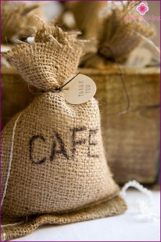 Bonbonnière coffee bag
