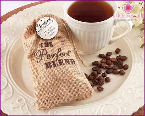 Coffee in a sack - a nice gift
