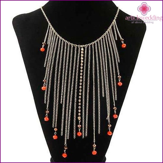 Pendant chains and beads