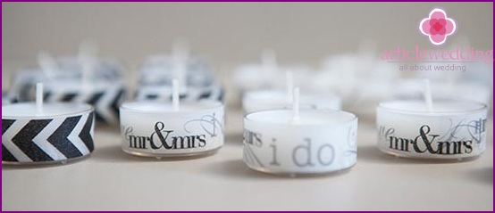 Beautiful designer candles