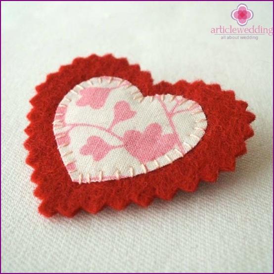 Heart for wedding