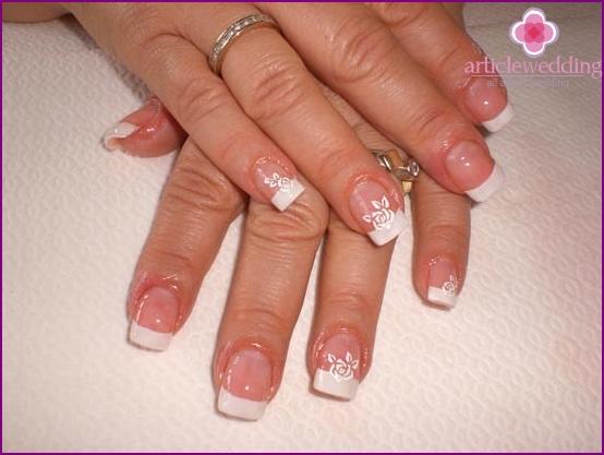 Franzusky manicure