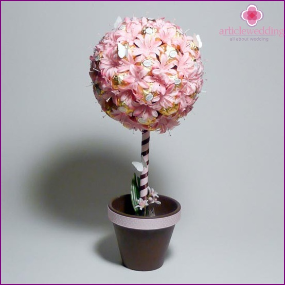 Topiary of sweets