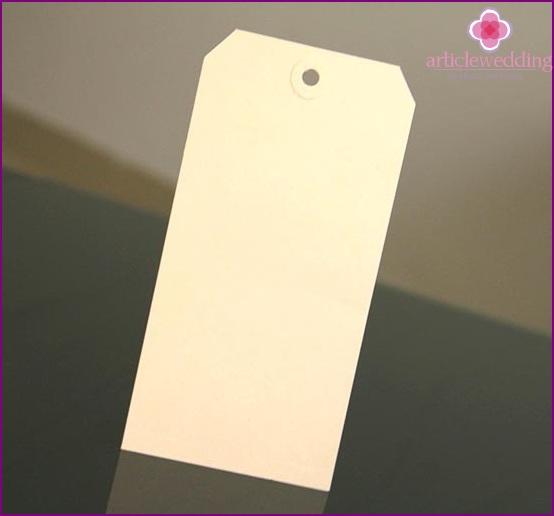 Make a blank tag