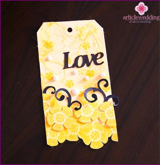 Ready tag for weddings