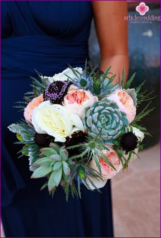 The original wedding bouquet