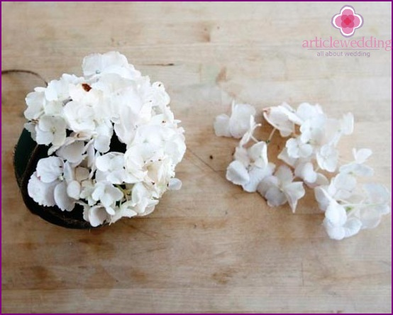 Decorate balloon flowers