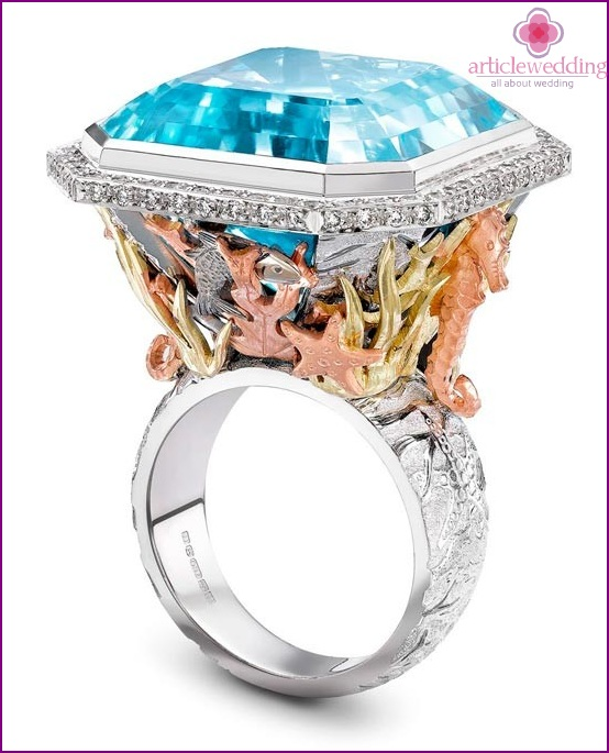 Exclusive engagement rings