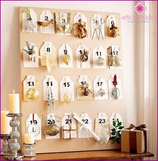 prenuptial calendar