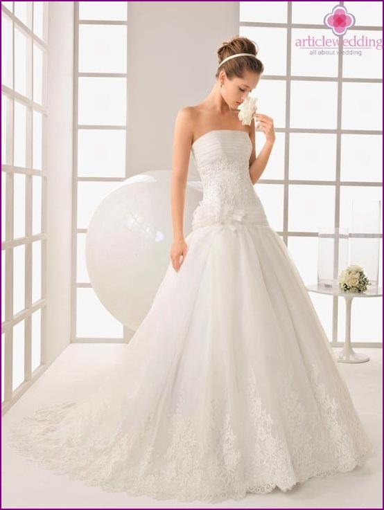 An expensive dress