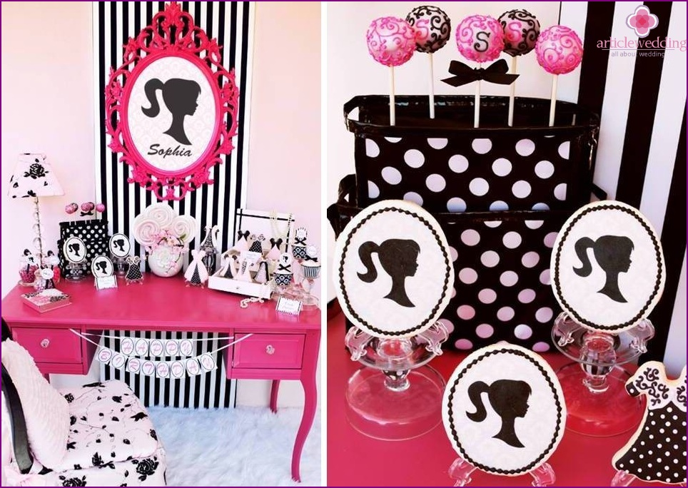 Candy bar at bachelorette party