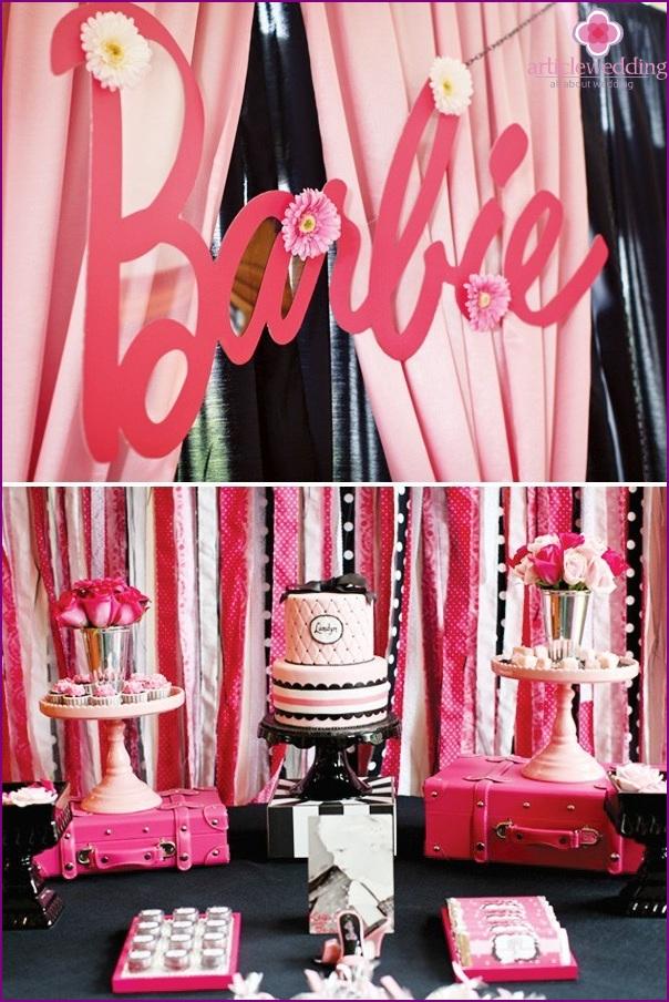 Decor places bachelorette party