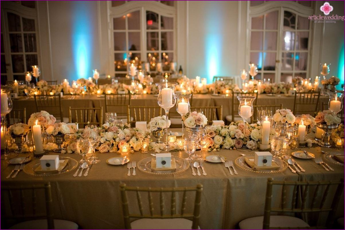 Light bruiloft decor: van idee tot realisatie