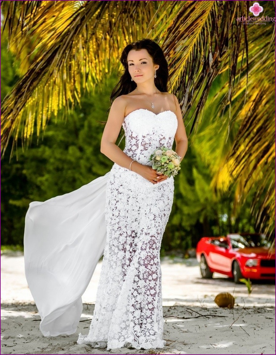 Popolare Matrimonio sulla spiaggia: l'immagine per la sposa XF95