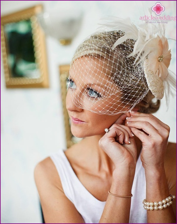 Veil for the bride