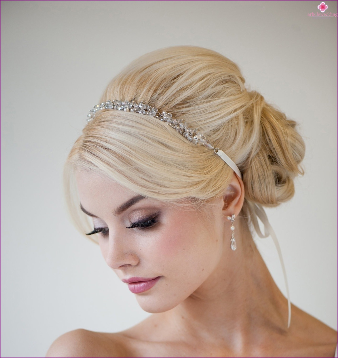 Ribbon decoration hairstyles