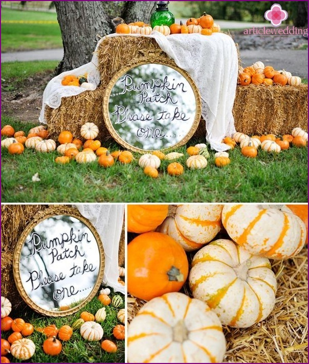 Decor autumn wedding