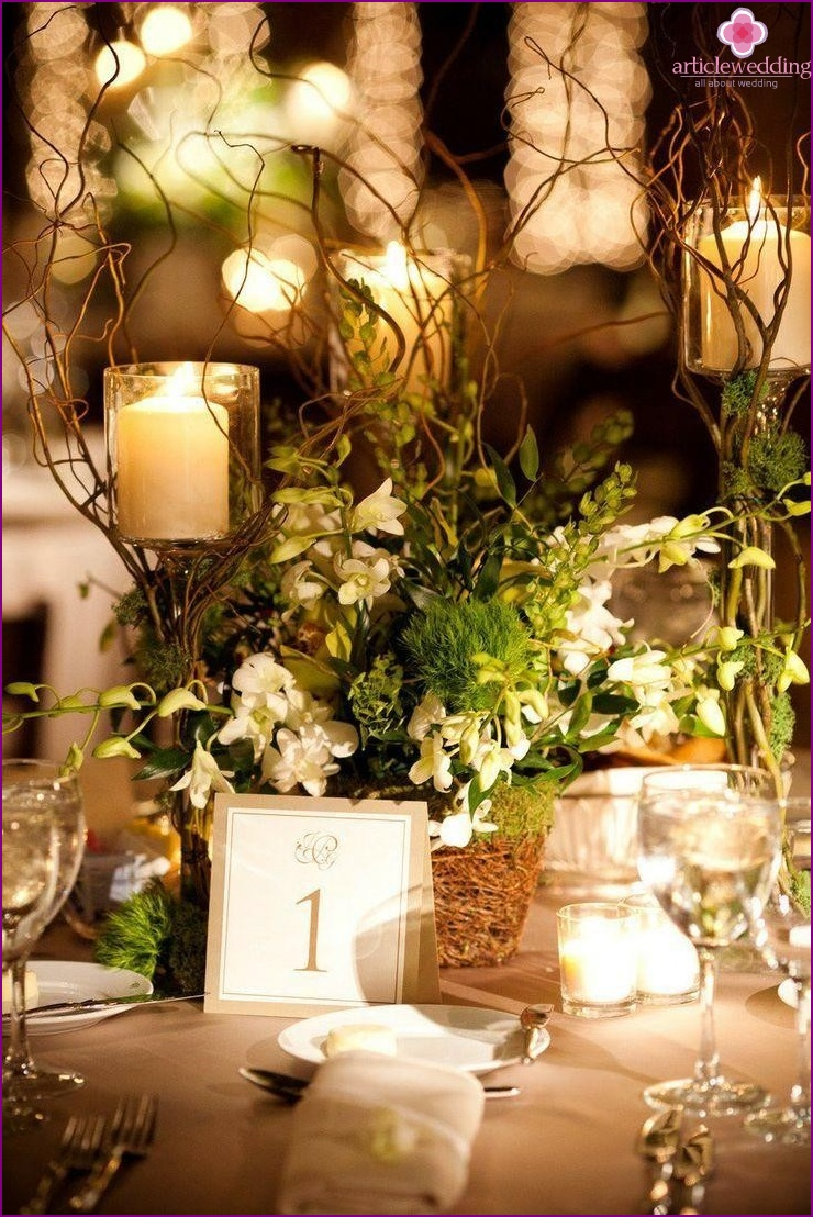 Decor eco-weddings