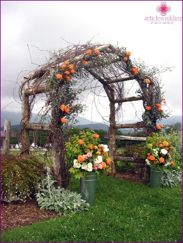 Arch in eco-style