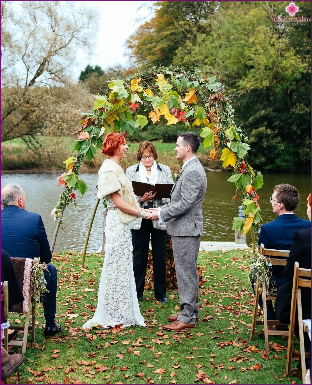 Wedding in eco-style