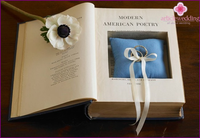 Book-Stand for rings