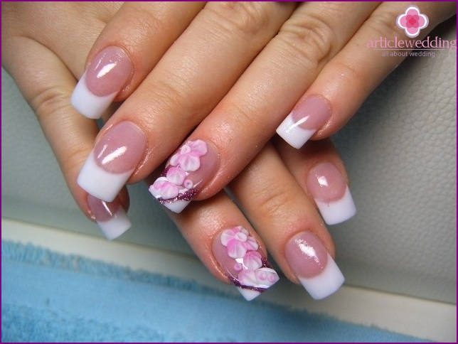 Wedding manicure