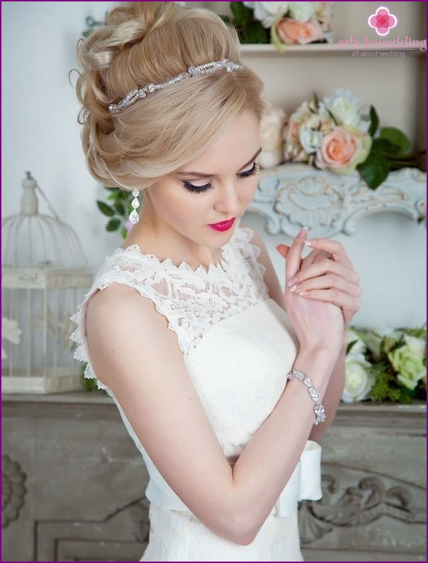 Jewellery for the bride