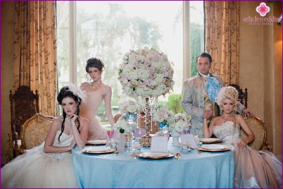 Wedding Salon format