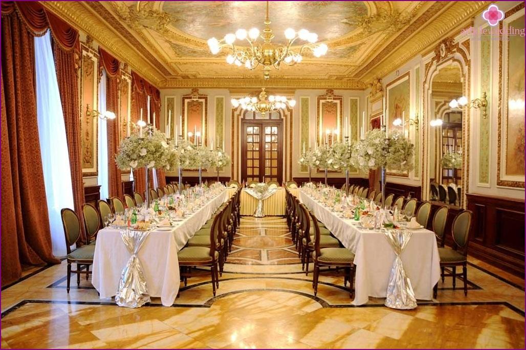 Rococo style in the interior