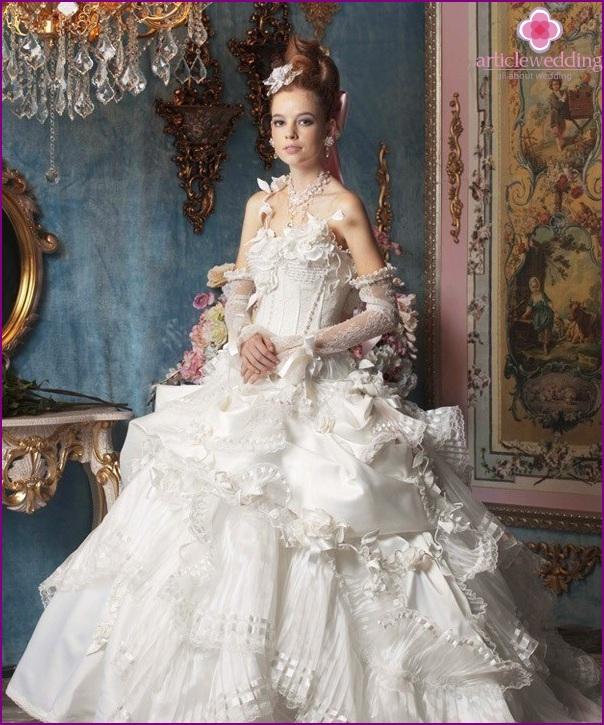 The image of the bride Rococo