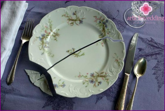The custom of whipping dishes