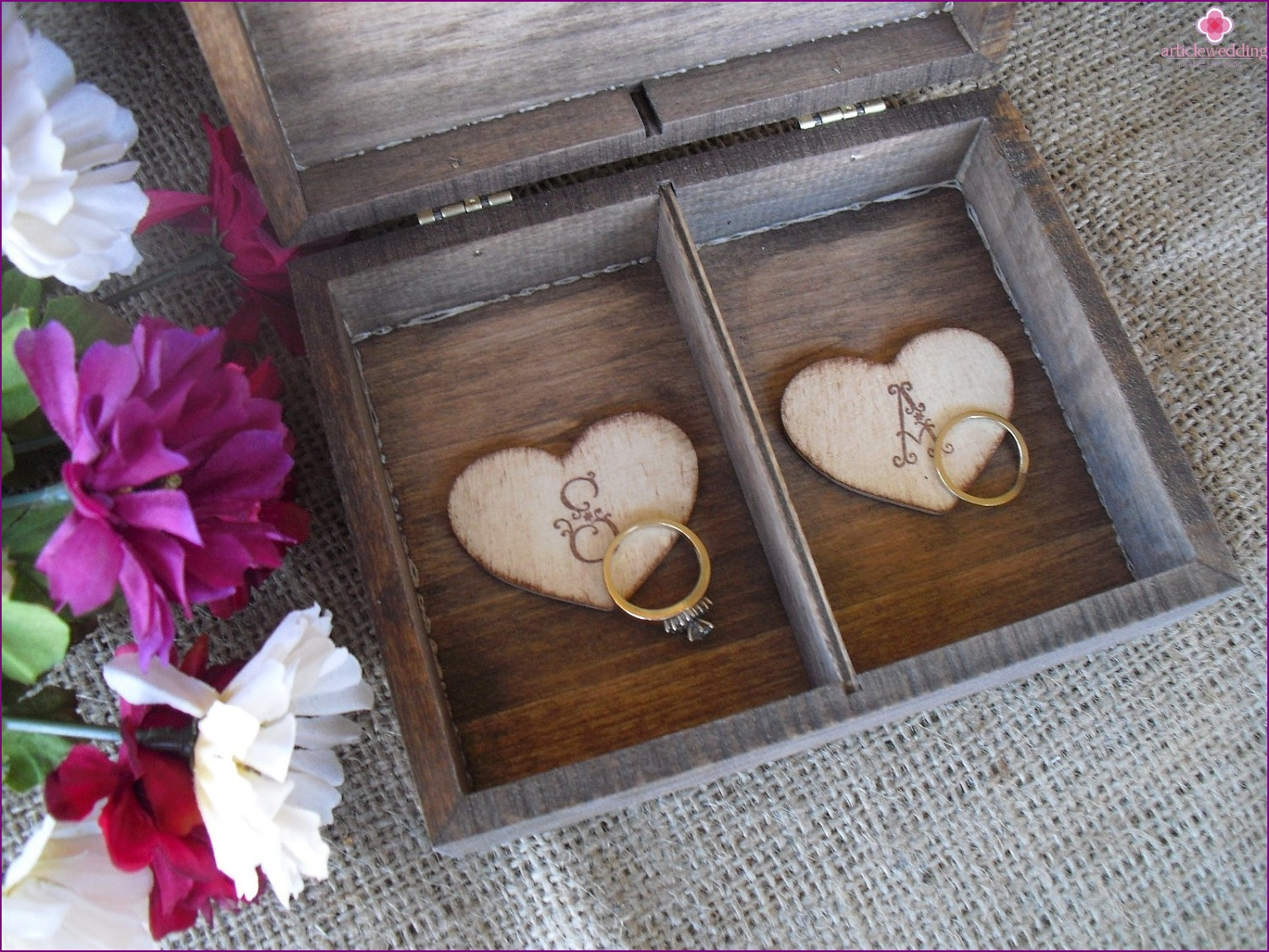 Casket for rings