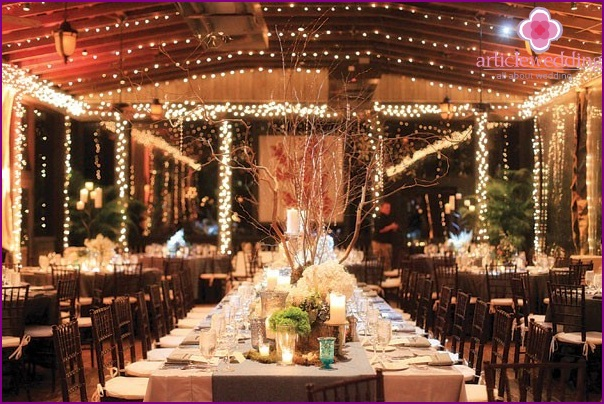 Wedding Decor Rustic