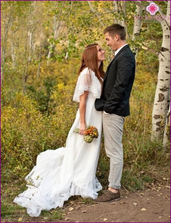 Newlyweds Rustic
