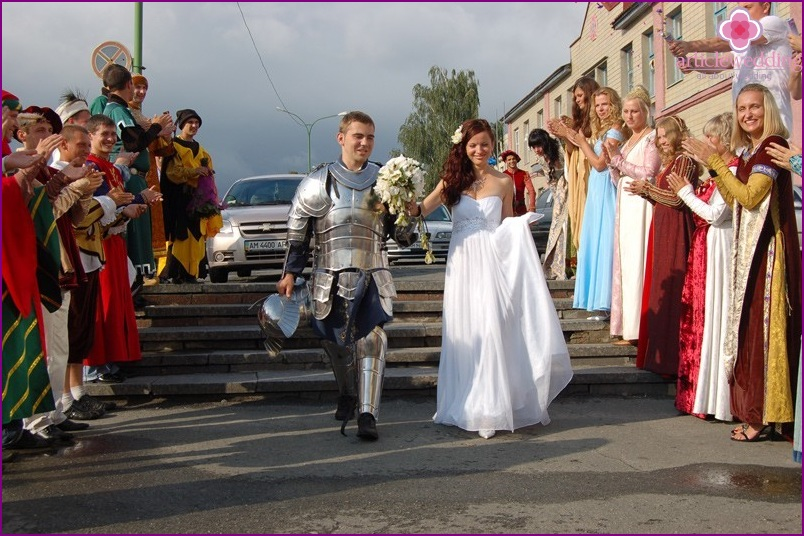 Knight's wedding