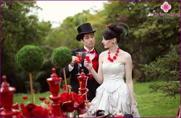 Theme wedding