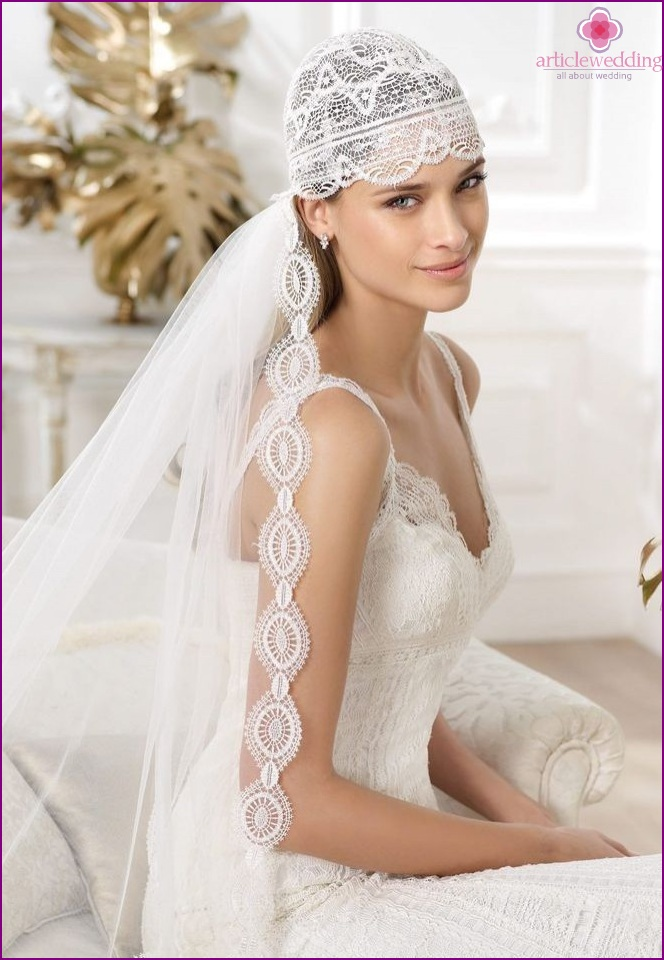 Veils for the bride
