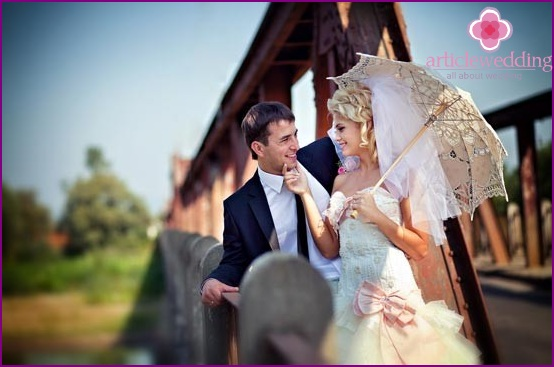 Wedding photo session - an important part of prozdnika