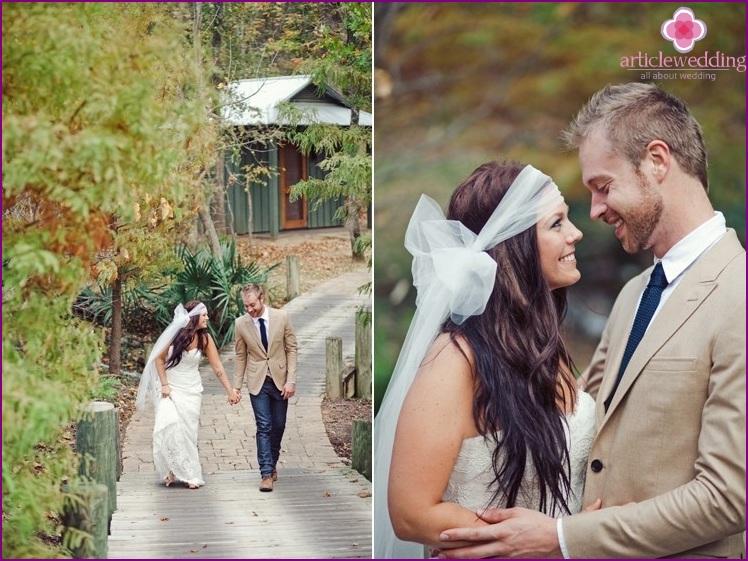 Scenario wedding for two