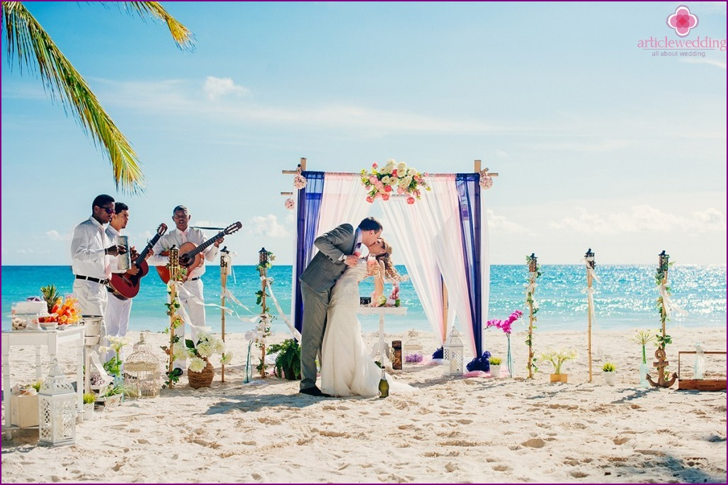 Wedding on the islands